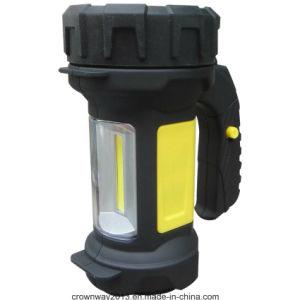COB lanternes Portable (SD-6140) Camping Spotlight main puissante des lampes de poche