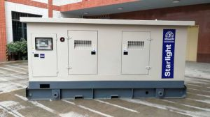 ISOのセリウムを持つShangchai Engineが動力を与える275kw無声ディーゼル発電機