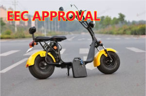 60V 2000W Pack de baterias amovível fácil Citycoco Scooter eléctrico