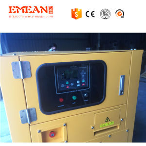 중국 엔진 50kw 침묵하는 디젤 엔진 발전기 세트