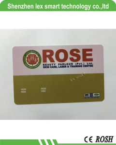 Impression au format 13.56MHz meilleur Mf Smart carte IC plastique PVC, PVC RFID carte IC carte IC L'entreprise de carte à puce ISO14443A