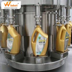 Commerce de gros seau en plastique d'huile de boîte de vitesses automatique de l'embouteillage de la machine / bouteille d'huile de frein de Machine de remplissage
