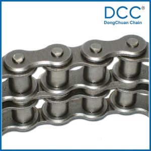 Paso corto cinturón industrial de precisión de los fabricantes de la cadena de rodillo transportador de cadena silenciosa
