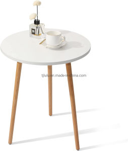 La decoración del hogar moderno Café, té blanco de la ronda final mesa mesa de salón, dormitorio y balcón,