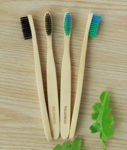Cepillo de Dientes de bambú / Venta caliente cepillo de dientes de la naturaleza