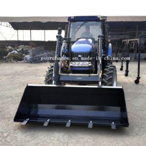 Trattore agricolo agricolo della rotella di qualità Dq1004 100HP 4WD di punta con il certificato del Ce di iso da vendere