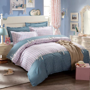 Produtos têxteis 100% algodão roupa de cama de alta qualidade para Home/Hotel Consolador Edredão cobrir extras (pontos Polka)