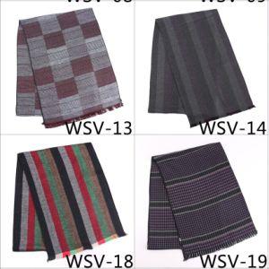 新しいデザイン男性Fasionのビスコーススカーフ(Wsv-13)