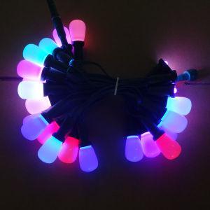 Qualitäts-WeihnachtenMinleon Trik-Lits RGB Kugel-Im Freienlicht