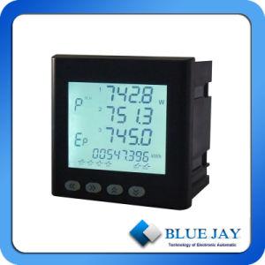 Medidor do Painel digital com AMP Volt Hz Cos W Var Kwh Contador eléctrico de Frequência