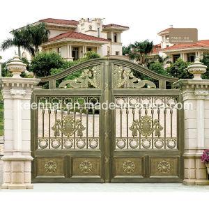 Cancello di giardino di alluminio architettonico del metallo della villa