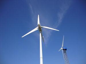 Molino de Viento horizontal sistema generador de turbina