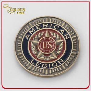 Custom de plata antiguos Soft enamel Moneda con abrebotellas