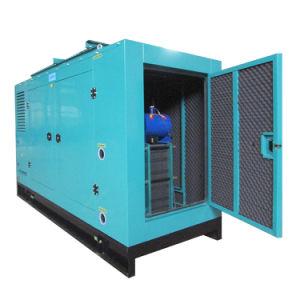高性能エンジンの無声タイプ60kwの天燃ガスの発電機セット