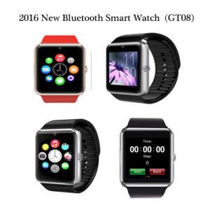 2016 Nuevo reloj Bluetooth Smart Wirst en China (GT08)