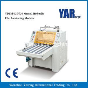 Máquina de laminação a frio Hidráulica Manual para a folha de papel com o rolo