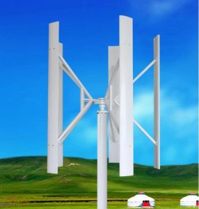 AC-120V 5kw 가정 사용 (SHJ-VH5000)를 위한 수직 축선 바람 터빈