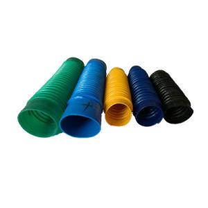 Colores personalizados onduladas fuelles de goma de caucho Revestimiento de goma
