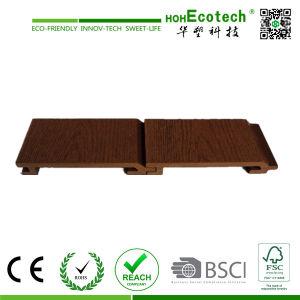 Surface du grain de bois WPC parement mural Panneau de paroi externe (156S21)