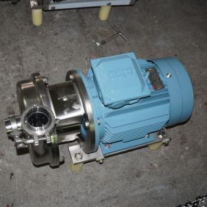 Roestvrij staal Milk Centrifugal Pump met ABB Motor