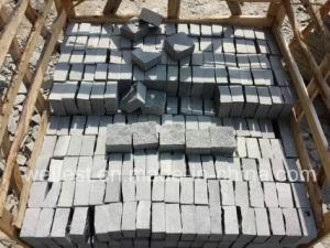 G654ゴマのPadangの暗い灰色の花こう岩の立方体の敷石