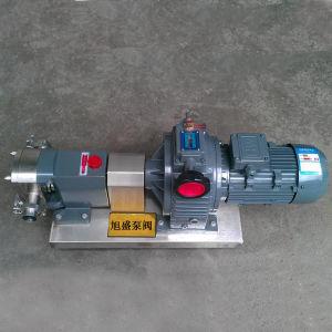 Engranajes de acero inoxidable de grado sanitario Bomba rotativa de la bomba de rotor