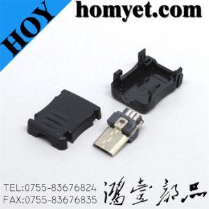 Conector Micro USB con 3 partes para accesorios de móvil