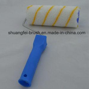 coperchio del rullo di vernice acrilica di 18cm Girpaint (banda gialla) con la maniglia dei pp