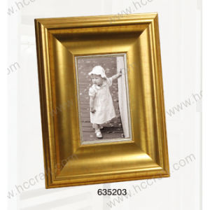 Home Decorationのための金PS Picture Frame