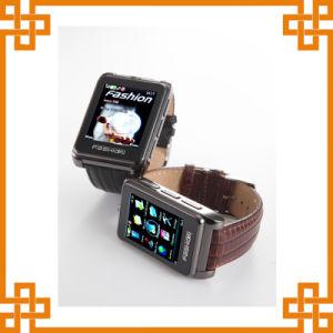 腕時計の携帯電話の手首の携帯電話
