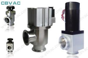 Valvole di angolo di Uhv/valvola di angolo di alluminio con la flangia dei CF