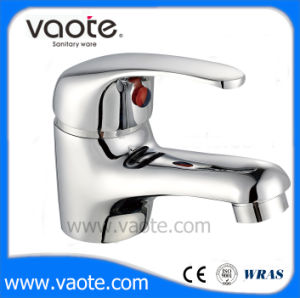 Corpo em latão venda quente com detalhes cromados bacia mais barato da torneira Misturador (VT10103)