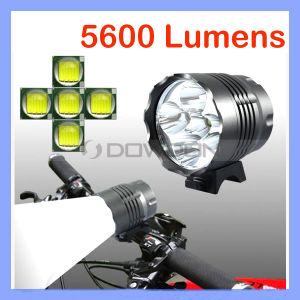 5 LEDCREE Bike Bicycle Front Light mit 5600 Lumens