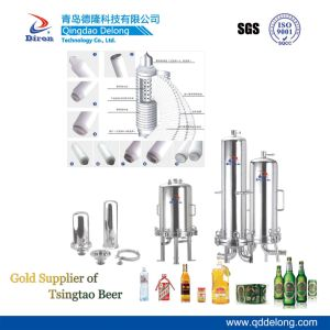 Filtro de membrana de CC para a cerveja fresca (Dlgz-Gl-40)