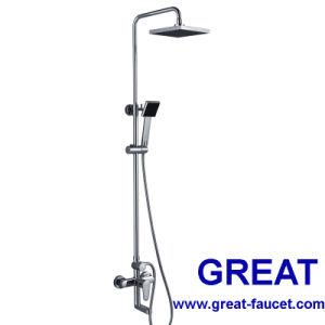 ステンレス製のSteel Shower Columnの浴室Faucet