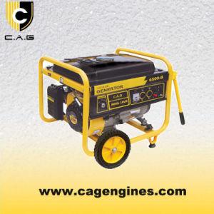 Approuver ce générateur à essence à faible bruit de l'alimentation (5kw 5,5 kw)