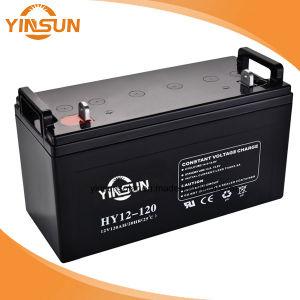 12V120Ah batería de plomo ácido libre de mantenimiento