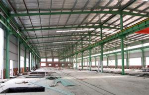 Estructura de acero de construcción