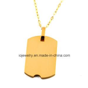 18K de goud Geplateerde Juwelen van de Douane van de Halsband van de Tegenhanger