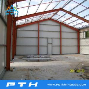 Prefabricados de bajo coste de la construcción de la estructura de acero galvanizado