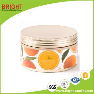 Grande Tin Velas com aroma de fruta