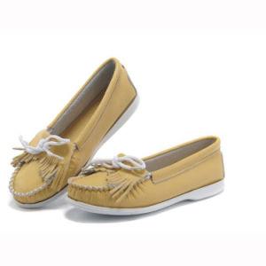 女性の革靴のダンスの靴(FTS1020-8)の高品質