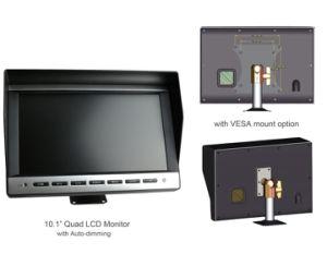 Retrovisor de 10,1 Monitor para Serviço Pesado