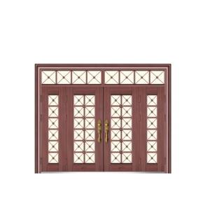 Portelli d'acciaio di grande misura non standard di obbligazione della Camera del portello esterno del cancello