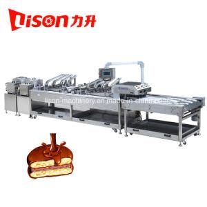 Biscoito de alta velocidade Sandwiching fazendo a máquina com o multiplicador de Linhas
