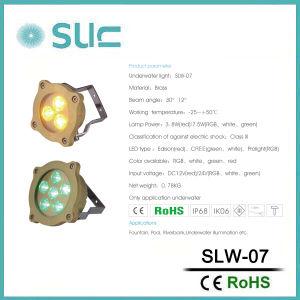 IP68は屋外ライトまたはプールライトのためのLEDの水中ライトを防水する