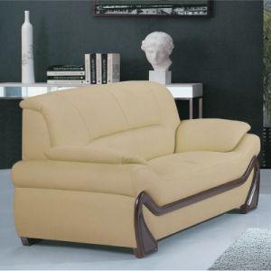最もよい品質の居間の家具の本革の余暇のソファー(A006)