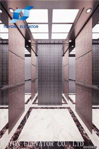 Qualidade fiável Motoer Levante 2 toneladas de materiais de construção do prédio do Guindaste Home Passeios Elevador Hidráulico