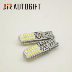 T10 3014 24SMD水晶12/24V白い車LEDの球根