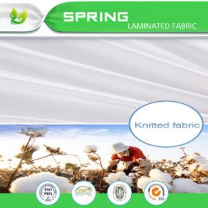 Venda a quente à prova de algodão com revestimento de PU elastância Tecido de poliéster